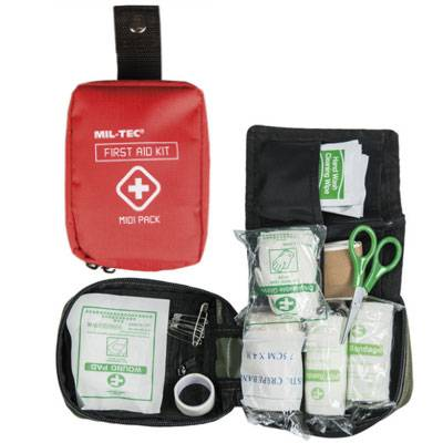 Erste Hilfe - First Aid Kit Midi Pack Rot