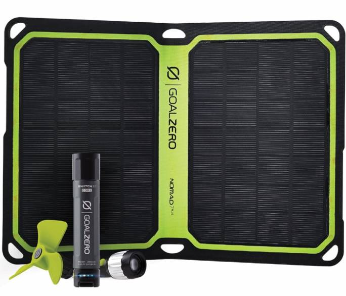 GoalZero Switch 10 Solar Kit Nomad 7Plus