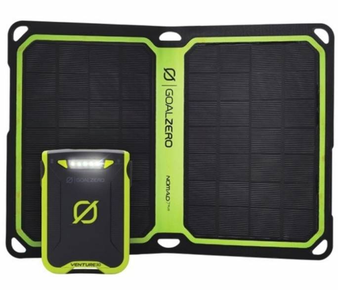 GoalZero Venture 30 Solar Kit Nomad 7 Plus