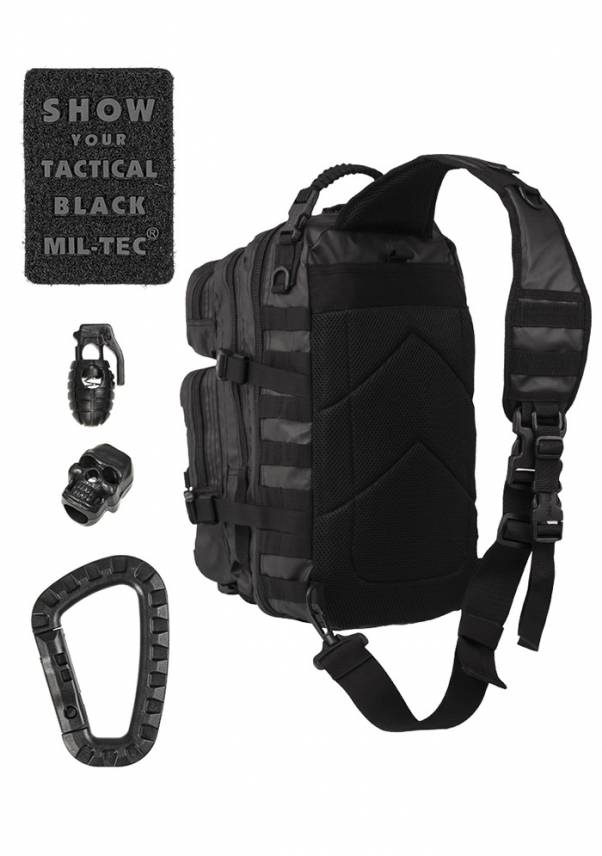 One Strap Assault Pack Large Tactical Black