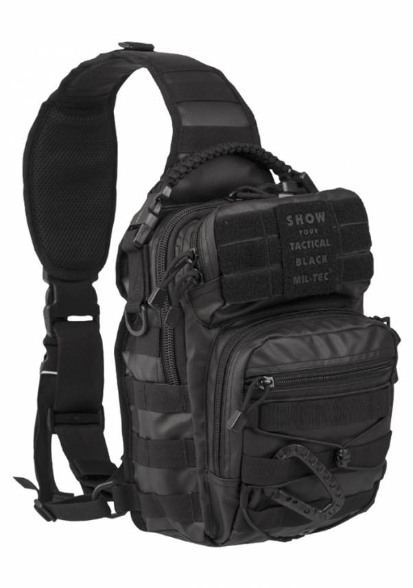 One Strap Assault Pack Small Tactical Black