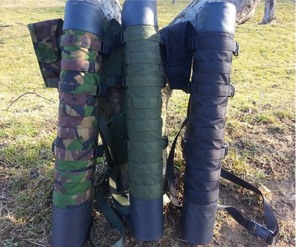 Pfeilköcher 2in1 Military mit Mollesystem