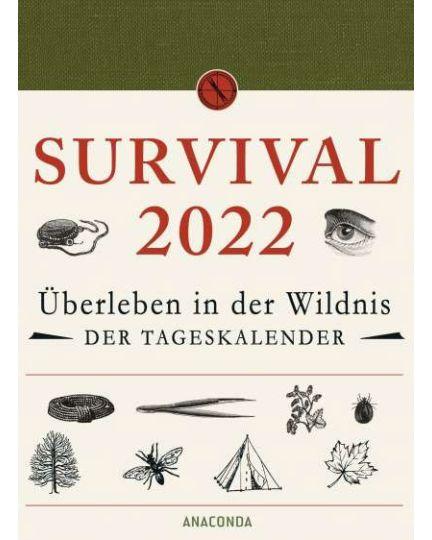 Survival Kalender 2022 Dave Canterbury
