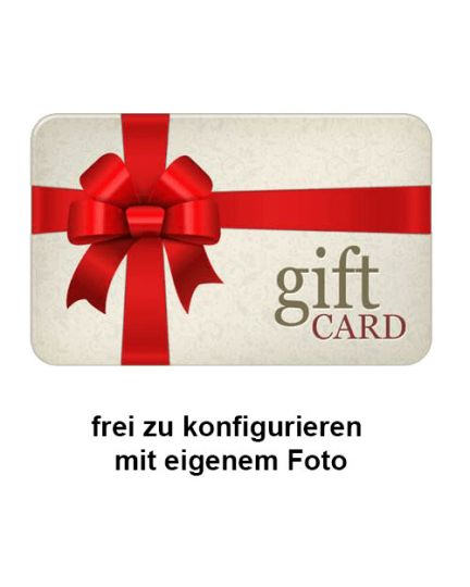 Gift Card per SMS und Email