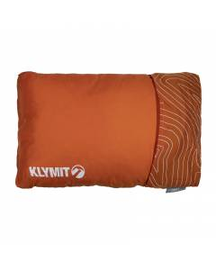 Klymit Drift Camping Pillow- Orange Large