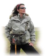 Parachute Handtasche mit Schultergurt und Karabinerhaken