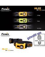 Fenix HL22 LED Stirnlampe Gelb