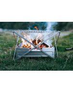 Wolf and Grizzly Campfire Trio faltbarer Grill und Feuerschale