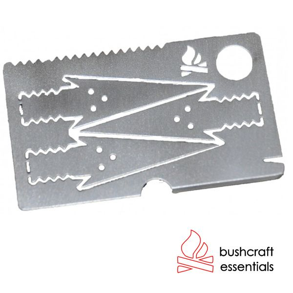 Bushcraft Essentials Survival-Pfeilkarte