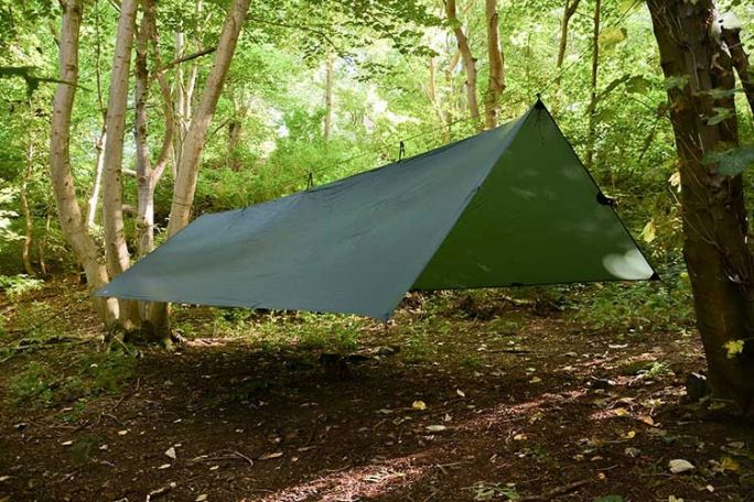 DD Hammocks SuperLight Tarp XL Plane