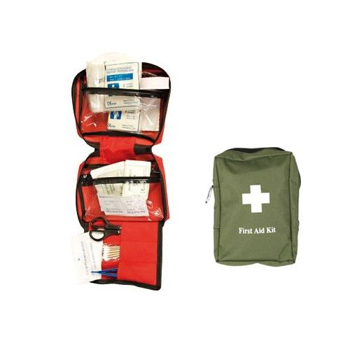 Mil-Tec First Aid Kit Rot Large