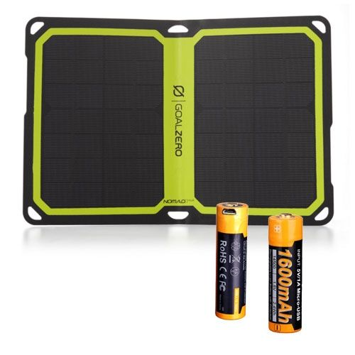 Insulinpumpen Akku Solar Power Kit