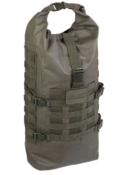 Tactical Backpack SEALS Dry-Bag Oliv