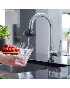 DrinkPure Home Basic – Swiss Made Wasserfilter für den Wasserhahn