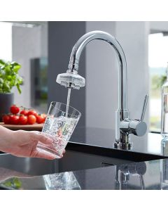 DrinkPure Home Chrome – Swiss Made Wasserfilter für den Wasserhahn